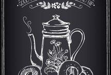 этикетки на чай