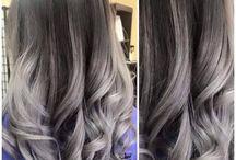 Цвет волос-покраска