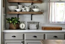 Úložné prostory v kuchyni