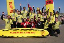Groepsfoto's Beach Lifeguards Wassenaar