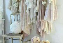 Linen & Lace | Pretty Pillows, Clothes and Lace Decor / Inspiration for lace in fashion and decor