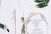Wedding: Modern Botanical