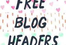 Blog Graphics / Headers, Backgrounds, templates etc!