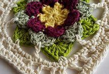 Crochet Flower Square / Flower Square