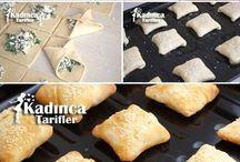 fırında ebe çöreği (muhacir böreği-mayasız
