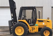 Rough Terrain Forklifts For Sale / Pre-owned rough terrain forklifts for sale by A D Lift Truck