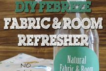 DIY home cleaners etc