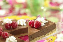 tarta de choco decadente y por choco