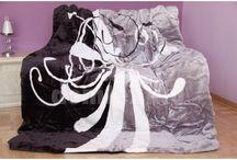Luxusné deky / Hebké, hrubé a teplé deky z mikrovlákna. Luxusná dizajnová línia.