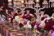 Von troue / Table settings, colour themes Invitations & Dresses
