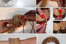 Pletení - náramky .......
