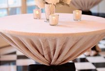 WEDDING COCTAIL TABLE