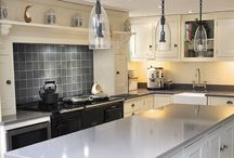 Our very own projects / Kitchens etc built, installed and painted by our own fair hands