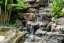 Waterfalls, Ponds & Fountains / Waterfalls, Ponds, Pondless waterfalls, Fountains, Water features. All about water!