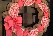 Wreaths / by Courtney Willcutt