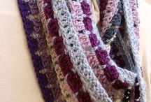 Cowls, scarves, shawls