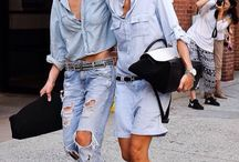 Wearing Denim / Denim outfit inspiration