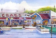 Annapolis Artists / We are lucky to have so many talented artists in town!