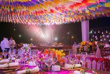 Decoración boda charra