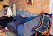 Interior paintings (Expressionist/Impressionist)