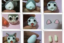 Miniature Animals Polymer Clay