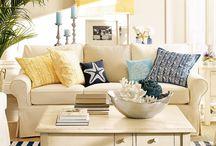 Ocean livingroom ideas / by Dominica Garcia-Briseno