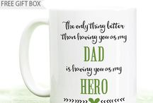Father's Day Gifts / Coffee Mugs for Dad