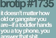 bro-tips / by Amanda Wagner
