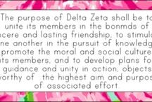 Delta Zeta  / by Samantha McGrath