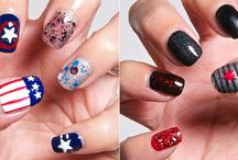 BLOG: Nail Art / Nail art from the blog. Glitter, hand drawn art and stamping. / by Jeanatte Salazar | Mrs. Mosh