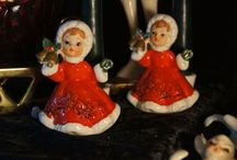 My love for vintage Christmas! / by Laura Mk