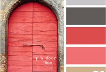 color! pink - brown - white!
