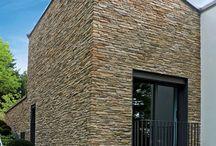 mur extérieur  pierre