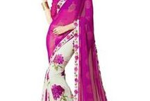 Fascinating Georgette sarees / Stars of Georgette family are here :) Greet them here - http://bit.ly/1YY688Q