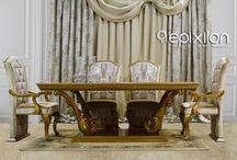Τραπεζαρίες Epixilon/ Table set / Τραπεζαρίες κλασικές νεοκλασικές Epixilon by Victor Taliadouros