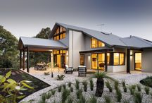The Quedjinup / The Quedjinup captures the epitome of a down south dream home, with surf breaks close by and a serenity unrivaled by city living.  One of the first things you notice about the Quedjinup home is how beautifully the traditional elevation blends with the surrounding bushland.