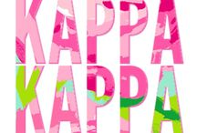 Kappa Gam, That's What I Am! KKG <3 / by Kristy Galler