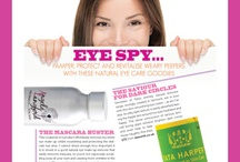 What The Press Say! / What the world of organic skincare has said about my natural skincare products!
