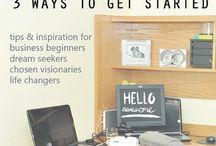 Blog: Business & Blogging / http://helloawesomeshop.blogspot.com/
