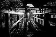 People In The Rain / beautiful couple shots during rain showers