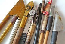 Herramientas caligrafía - Calligraphy tools