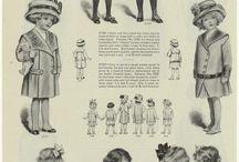 Historiska barnkläder