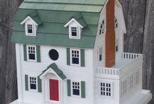 Elaborate Birdhouses / Detailed, big and fancy birdhouses