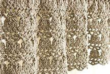Crochet....Curtains.
