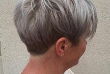 Short hairstyles for woman over 60 grey hair