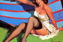 Vintage illustrations / Pin ups romance and fashion / by ann smitham