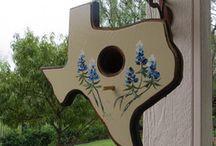 Bird Houses for Texas Folk / Texas-Inspired Bird Houses / by Rockin E Gift Company