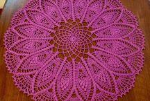 crochet tableclothes