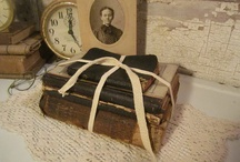 Home-Books- Decor and Create / Books lend such comfort to any design. Vintage or Modern. Romantic or Utilitarian.