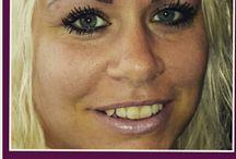 eyebrows  eyeliner permanent make-up